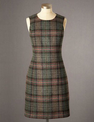 Boden Sixties Brit tweed shift dresses