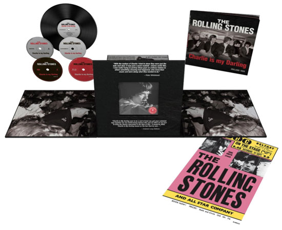Rolling Stones Charlie Is My Darling Super Deluxe Edition detailed