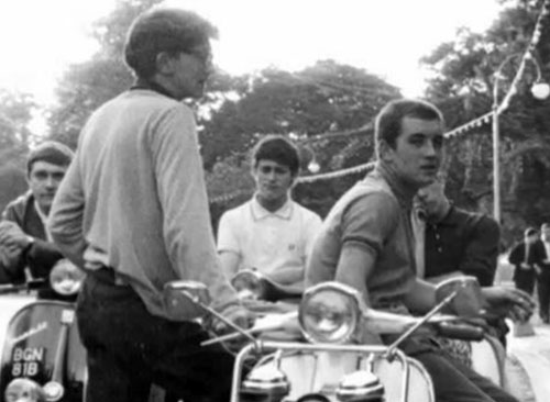 Mods in the 1960s