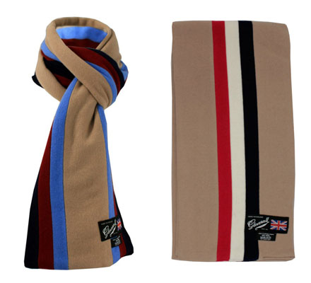 Gloverall college scarf range