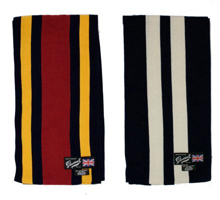 Gloverall college scarf range