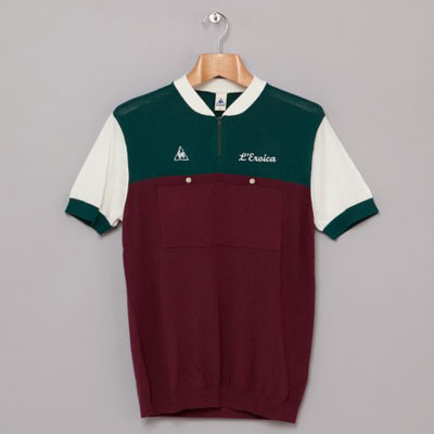 Le Coq Sportif L'Eroica vintage-style cycling shirts