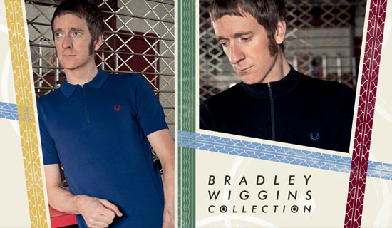 New range of Bradley Wiggins-designed winter Fred Perry shirts