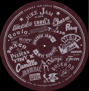 Jukebox Jam slipmats