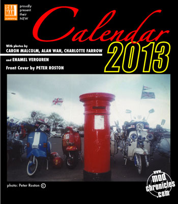 Mod Chronicles calendar 2013