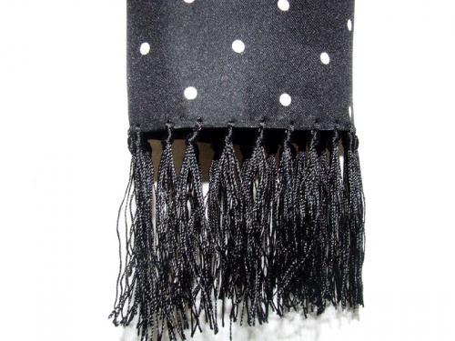 Polka dot silk scarves at Aero
