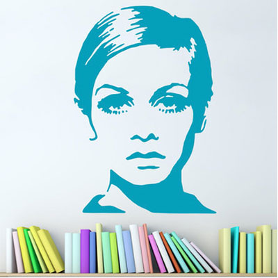 Twiggy wall decals by Zazous