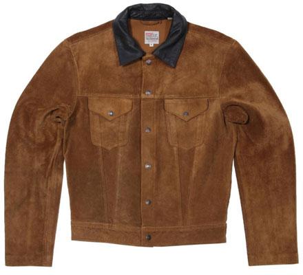 Levi's vintage suede Trucker Jacket