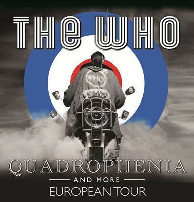The Who announces Quadrophenia European tour