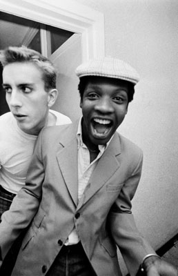 Terry Hall and Lynval Golding of The Specials, 1981 -ADRIAN BOOT/URBAN IMAGE