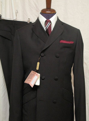 New 1960s-style double-breasted suits at DNA Groove