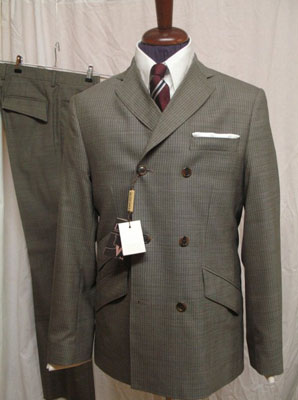 New 1960s-style double-breasted suits at DNA Groove - Modculture ...