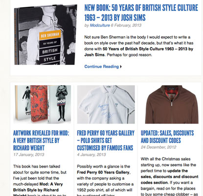Fancy writing for Modculture? Do get in touch…