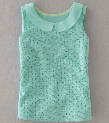 1960s-style Marcy Top at Boden