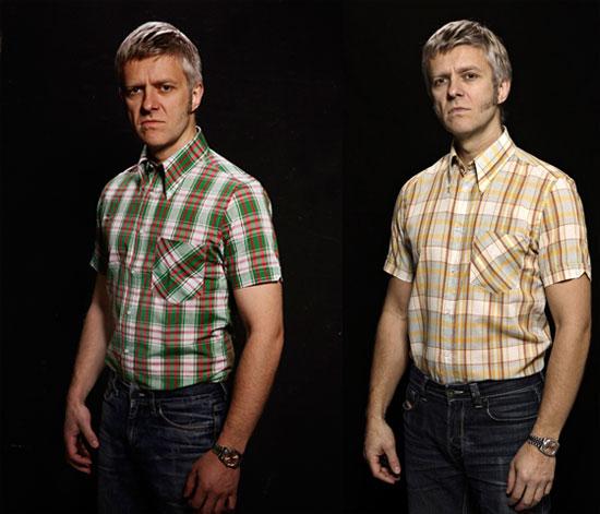 Mikkel Rude button-down shirts