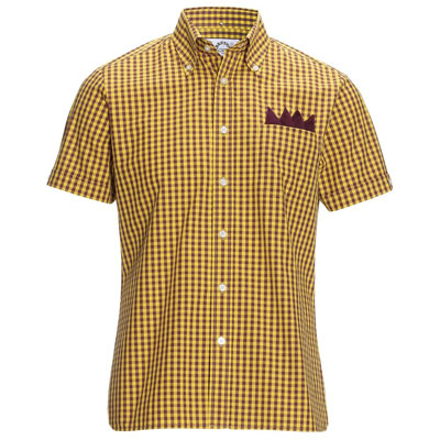Brutus X Dr Martens Oxblood Yellow Heritage Trimfit Shirt MKII