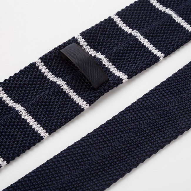 Silk knitted ties at Uniqlo now available
