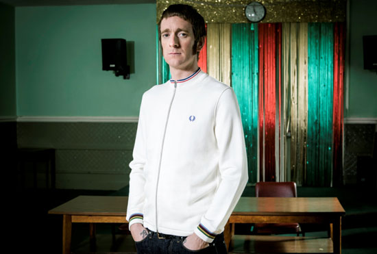 In pictures: All-new Bradley Wiggins X Fred Perry Spring/Summer 2013 collection