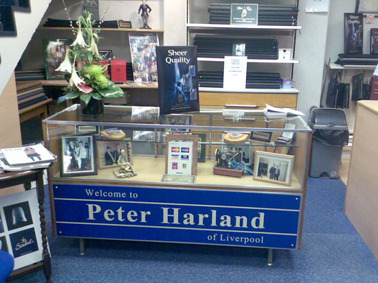 Peter Harland Tailors in Liverpool