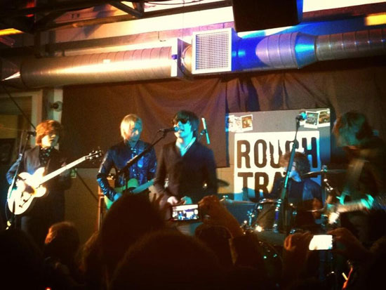 The Strypes with Paul Weller