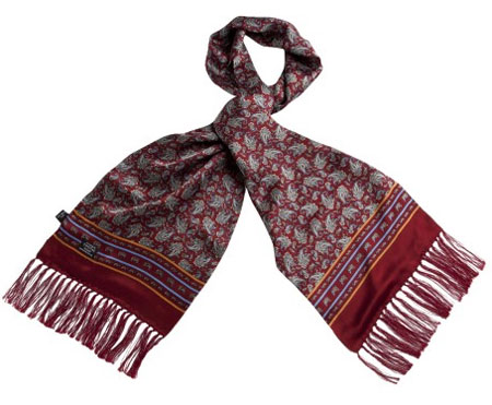 Classic mod Tootal scarf gets a re-launch for spring 2013