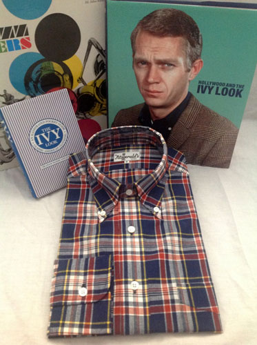 Ivy league-inspired shirts by Fitzgerald's Clothiers