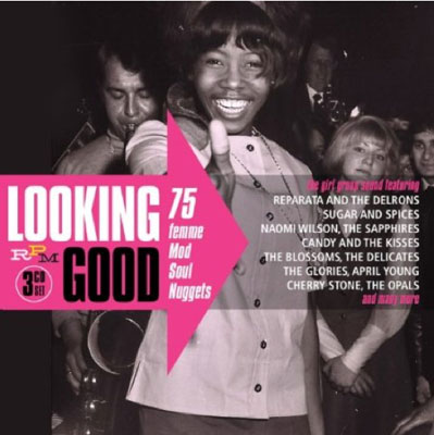 Coming soon: Looking Good – 75 Femme Mod Soul Nuggets box set