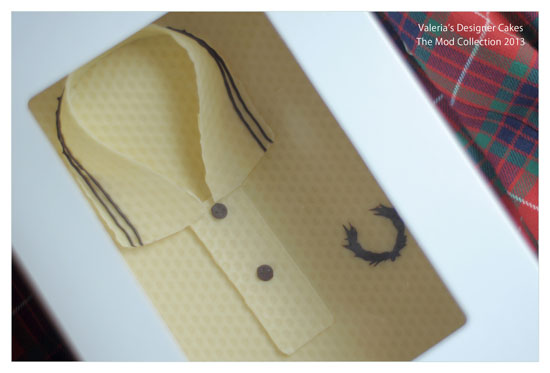 The Mod Collection: Classic mod clothing recreated in Belgian chocolate by Valeria