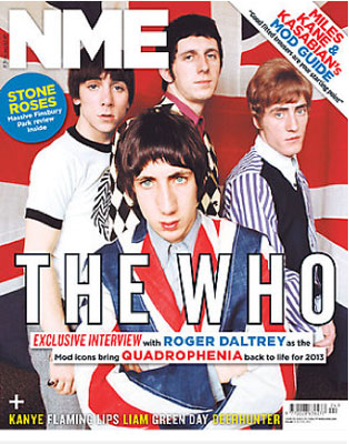 This week's NME goes mod