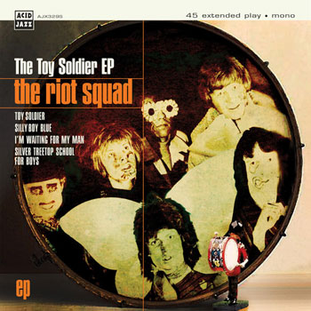 The Riot Squad with David Bowie – Toy Soldier EP (Acid Jazz)