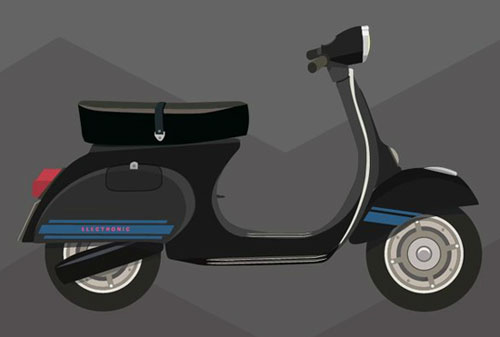Video: Vespalogy - an animated guide to the Vespa brand 1943 - 2013