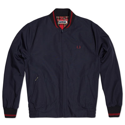 fred perry laurel wreath bomber jacket two new colour options modculture. Black Bedroom Furniture Sets. Home Design Ideas