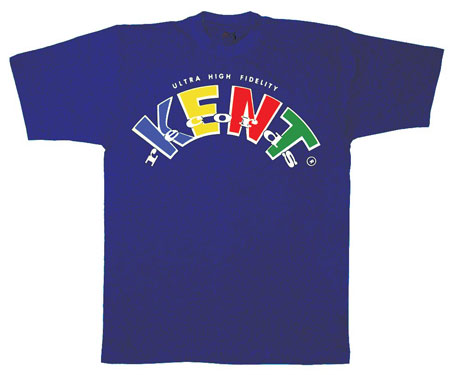 Kent label t-shirts from Ace Records