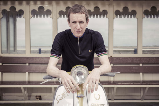 Fred Perry unveils the Bradley Wiggins autumn / winter 2013 collection