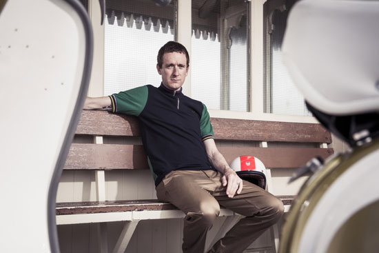 Bradley Wiggins autumn / winter 2013 collection