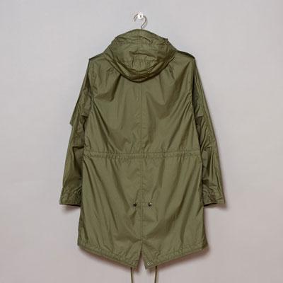Nanamica Fishtail Coat