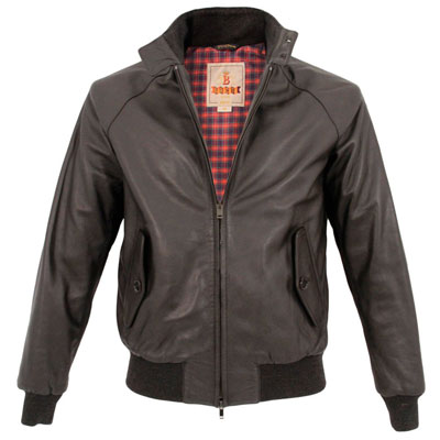 Limited edition Baracuta G9 Harrington Jacket in leather