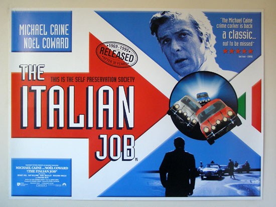 Free screening of The Italian Job (1969) in London