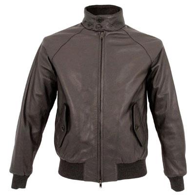 Limited edition Baracuta G9 Harrington Jacket in leather