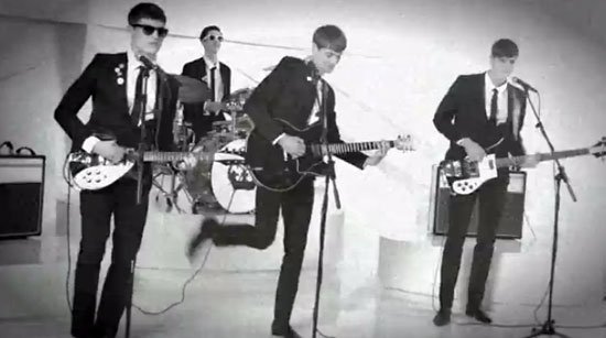 The Sonik Seeds in latest 1960s-style Rimmel London ad