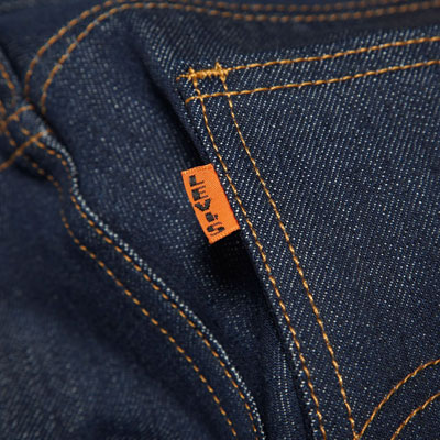 1960s Levi's Vintage Orange Tab 606 jeans reissued