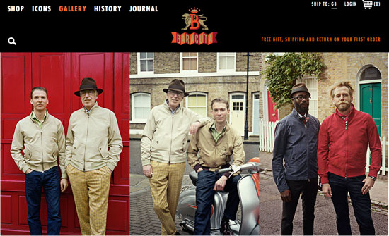 All-new Baracuta website goes live