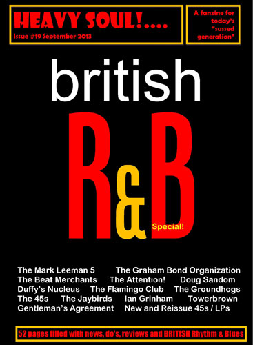 Heavy Soul British R&B Special magazine