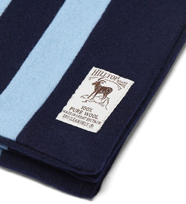 Fred Perry x Hilltop college scarves
