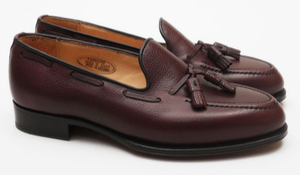 Hardy Amies tassel loafers