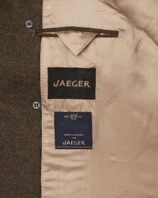 Jaeger Moss Green Peacoat
