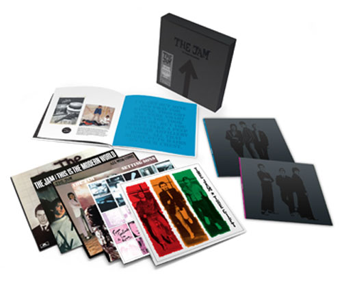 Coming soon: The Jam – The Studio Recordings Vinyl Box Set