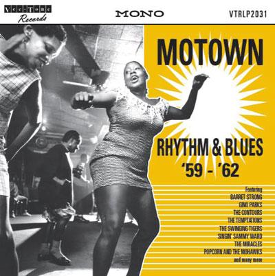 Motown Rhythm & Blues '59-'62 limited edition vinyl album on Vee-Tone