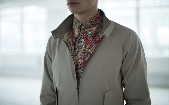 Ben Sherman x Liberty London Harrington jacket and shirt
