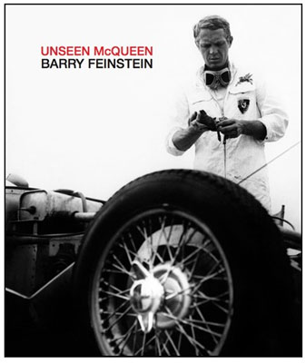 Unseen McQueen book © Barry Feinstein